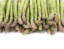 Close up of top asparaguses. Stock Images