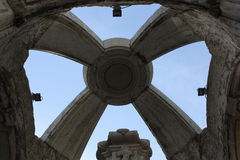 Close up of the top of Carmo fountain Stock Image