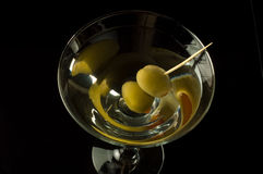 Close up of the top of a martini Stock Photography