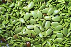 Top view fresh green leucaena leucocephala seed , nature background stock photos