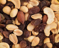 Free Close-up Top View Mix Different Of Nuts Royalty Free Stock Photography - 82556857