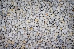 Top view small multicolor pebble, rock or gravel pattern for background. Close up Top view small multicolor pebble, rock or gravel pattern for background royalty free stock images