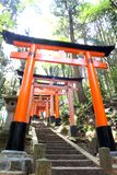 Close-up of Torii gate Royalty Free Stock Photos