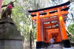 Close-up of Torii gate Stock Photos