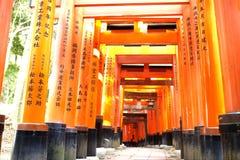 Close-up of Torii gate Stock Photo