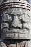 Close-up of Totem Pole Stock Image