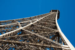 Close up on Tour Eiffel Royalty Free Stock Photo