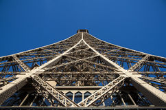 Close up on Tour Eiffel Royalty Free Stock Photos
