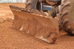 Close-up Tractor plow Stock Photography