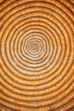 Circle texture. A close up of a traditional basket creating circular effect Royalty Free Stock Photos
