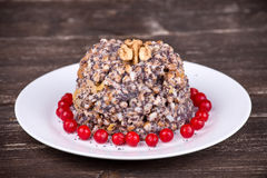 Close up on traditional Christmas kutia dish Royalty Free Stock Photography