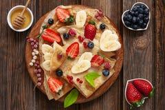 Close up of Traditional homemade pancakes. Celebration of Maslenitsa, Shrovetide.  royalty free stock photography