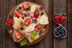 Close up of Traditional homemade pancakes. Celebration of Maslenitsa, Shrovetide.  royalty free stock images