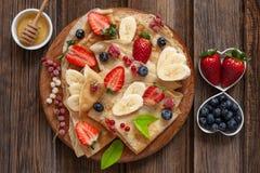 Close up of Traditional homemade pancakes. Celebration of Maslenitsa, Shrovetide.  royalty free stock image