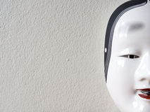 Close up of Traditional japanese theater mask Stock Image