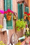 Close up of a traditional mediterranean house Royalty Free Stock Image