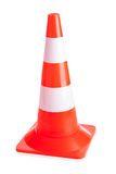 Close-up of traffic cone Royalty Free Stock Image