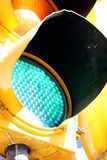 Close up of traffic light Stock Images