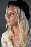 Close up of transgender woman looking away Stock Photography