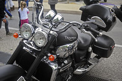 Close up of a triumph Royalty Free Stock Image