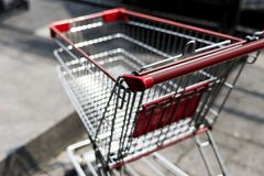 Close up of a trolly Royalty Free Stock Images