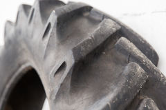 Close up of truck wheel tire Royalty Free Stock Photo