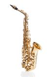 Close-up of trumpet Royalty Free Stock Images