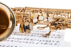 Close-up Of Trumpet Royalty Free Stock Photography