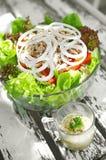 Close up tuna salad Royalty Free Stock Photos