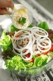 Close up tuna salad Stock Photos