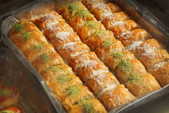 Baklava Stock Photo