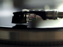 Close-Up turntable Royalty Free Stock Images