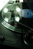 Close-up of Turntable Royalty Free Stock Photo