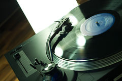 Close-up of Turntable Stock Photos