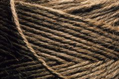 Close-up of twine wound up royalty free stock images