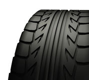 Close up of tyre tread Royalty Free Stock Photo