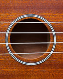Close up ukulele Royalty Free Stock Image