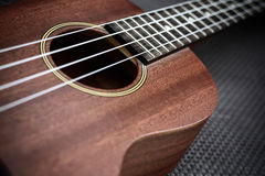 Close up of ukulele Royalty Free Stock Photography