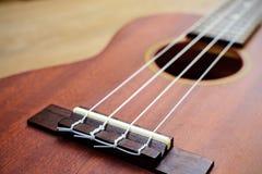 Close up of ukulele Stock Image