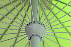 Close up of umbrella pattern. Close up photo of umbrella pattern Royalty Free Stock Photo
