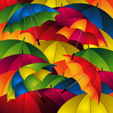 Close up umbrellas background Royalty Free Stock Photo