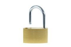 Close-up of an unlocked padlock Stock Photos