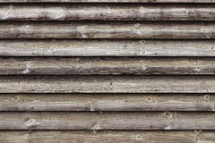 Close Up Of Unpainted Natural Weathered Textured Rustic Barnwood. Panel.  Traditional Scandinavian Pine Wood Planks Siding. Woodgrain Textured  Background With Stock Photo
