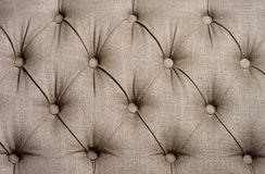 Close-up of upholstered furniture Royalty Free Stock Image