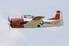 Close-up of US Navy plane Royalty Free Stock Image