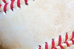 Close-up of used Baseball Royalty Free Stock Photo