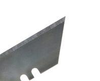 Close up utility knife blade Stock Image