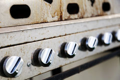 Grill Valves Royalty Free Stock Photography