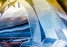 Close-up van achterlicht van auto Stock Afbeelding