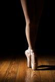 Close-up van Ballerinabenen Royalty-vrije Stock Afbeeldingen